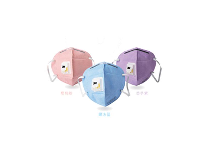 PM2.5颗粒物防护口罩彩色系列