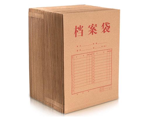 A4牛皮纸档案袋